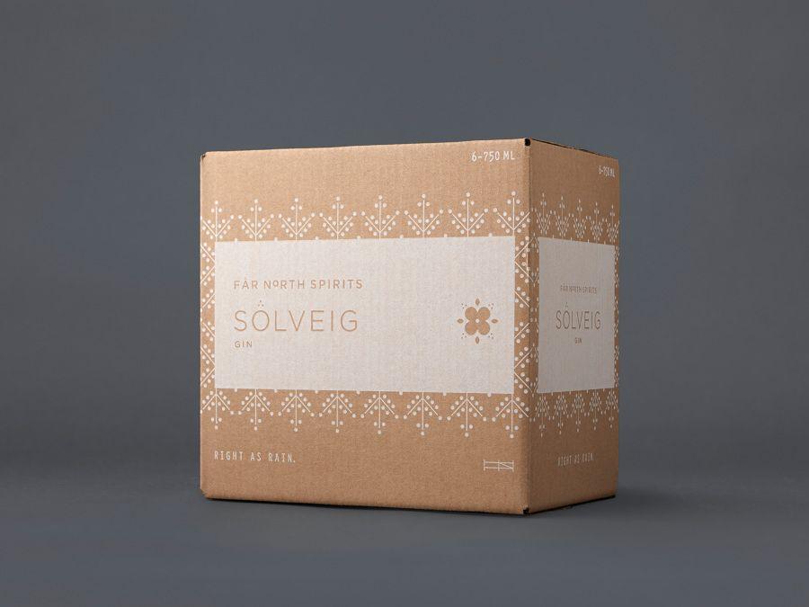 packaging / Solveig Gin - Jenney Stevens