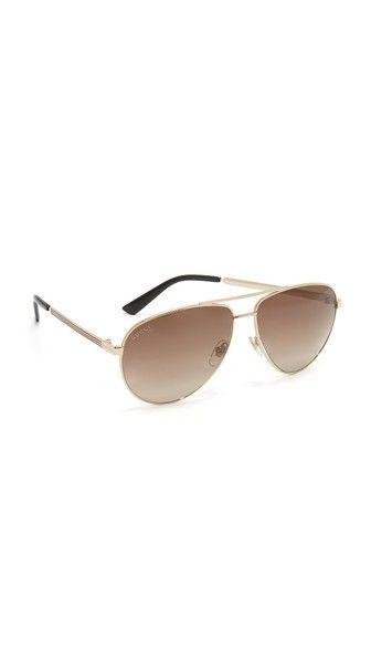 972cc0ce31c Gucci Vintage Web Aviator Sunglasses