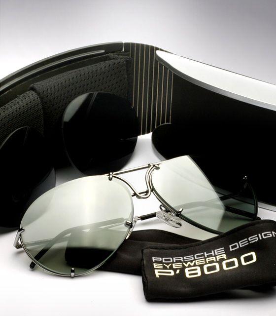 porsche design sunglasses p 39 8433 interchangeable lenses. Black Bedroom Furniture Sets. Home Design Ideas