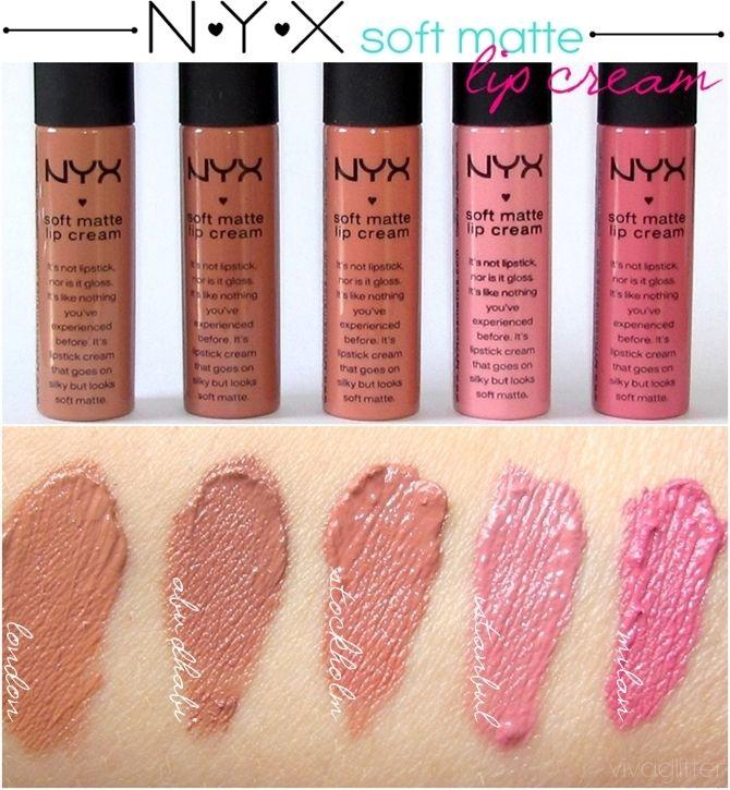 Blog Viva Glitter Swatches Nyx Soft Matte Lip Cream Nyx Soft