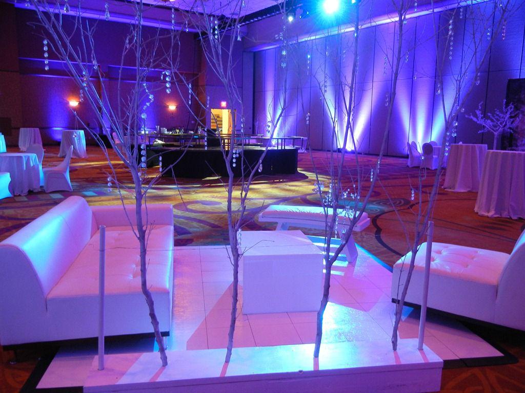 Theatrical Media Services Omaha Nebraska Weddings Wedding Reception Lighting Crystal Room Wedding Decorations
