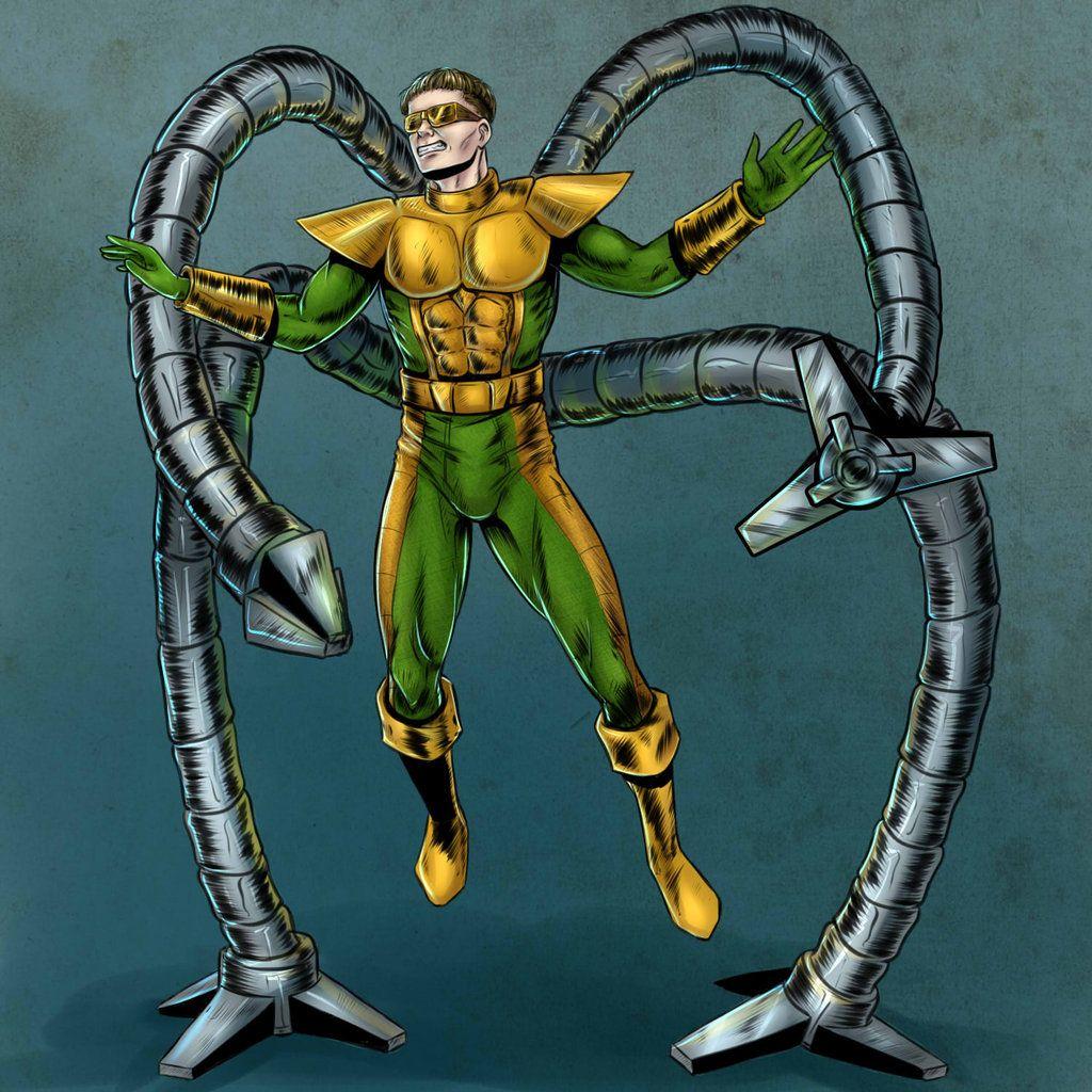 Doctor Octopus by Salamandra88.deviantart.com on ...