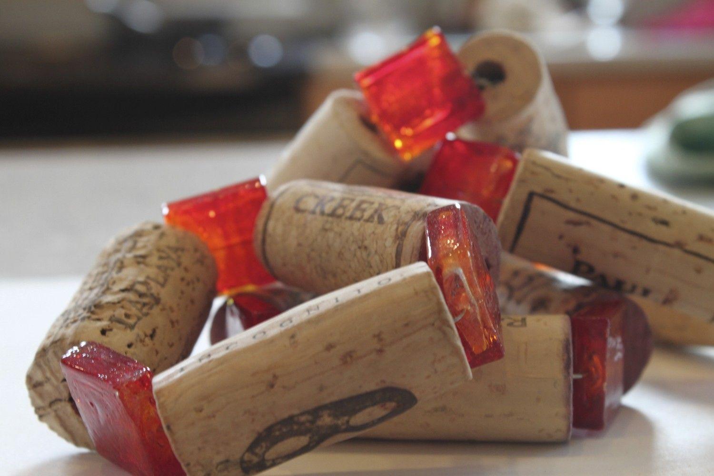 Cork Napkin Holder Napkin Holder Cork Diy Upcycled Wine Corks