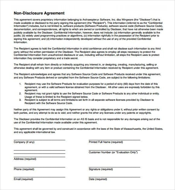 non disclosure agreement image 5 Interesting Articles - Business - non disclosure agreements