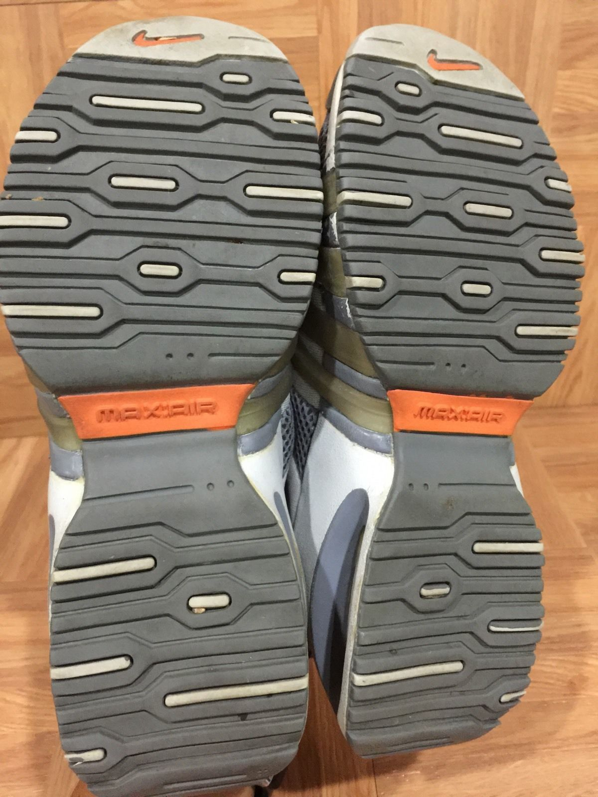 pick up c892d c75db Rare   Nike Air Presto Wolf Gray Cage Orange Size XS x Small Vintage  Trainers   eBay