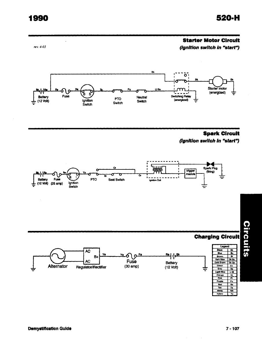 Toro Wheelhorse Demystification Electical Wiring Diagrams For All Diagram