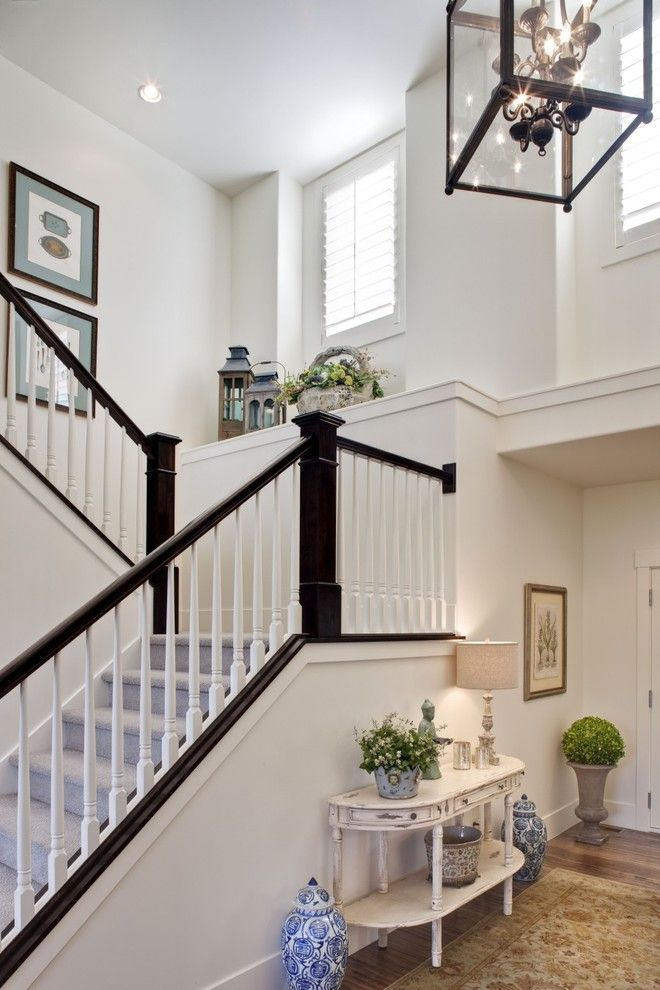 dark and white staircase - Google Search | Forever Home | Pinterest ...