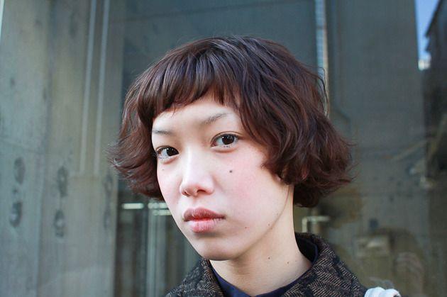 cute hair cut.
