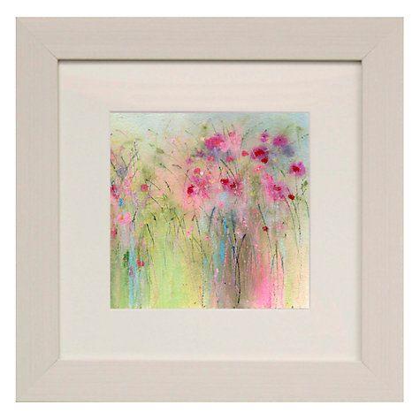 buy sue fenlon dolly mixture flowers framed print 35 x 35cm online at johnlewis