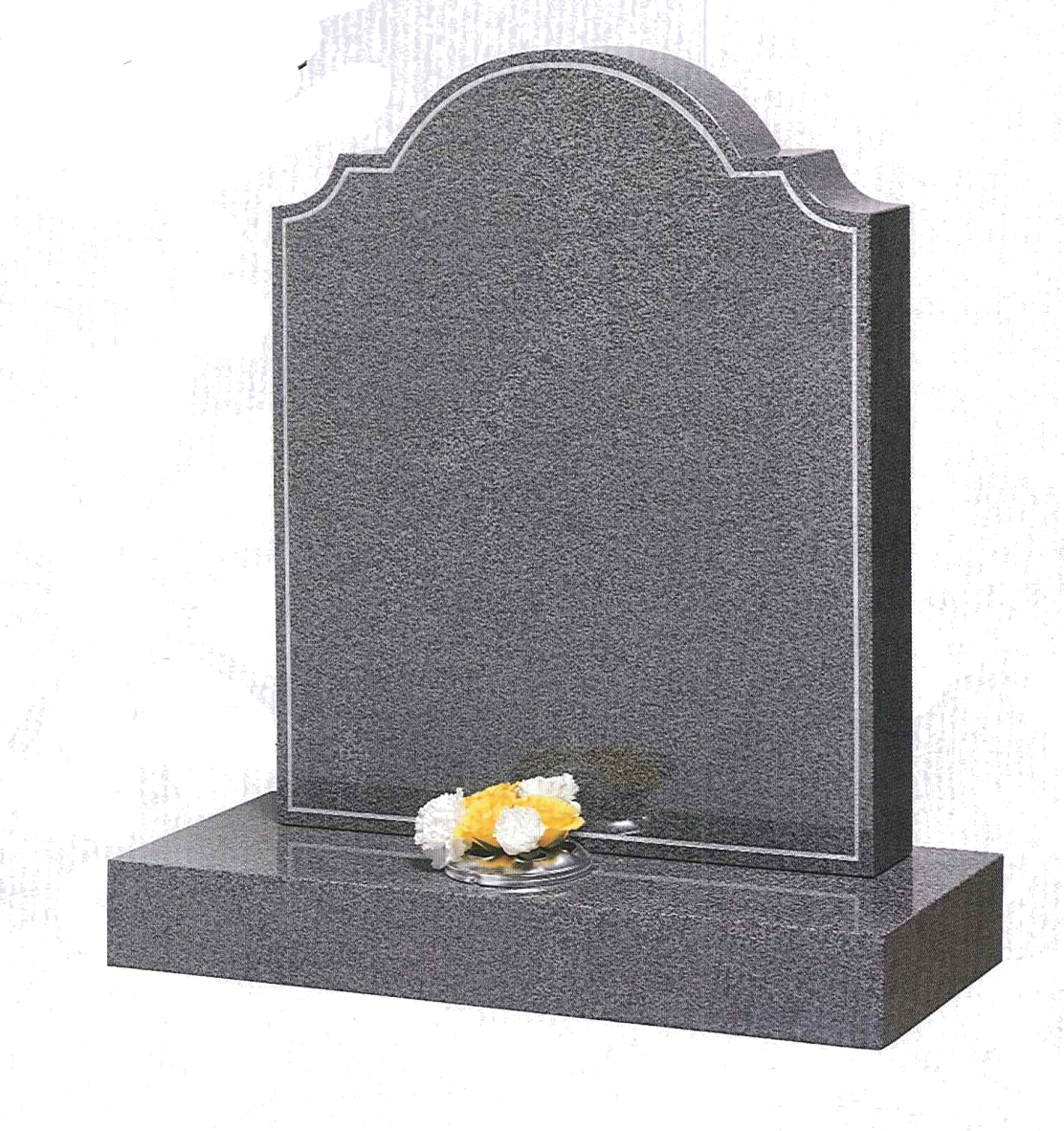 Gravestone Png Image Gravestone Flower Frame Png Tombstone