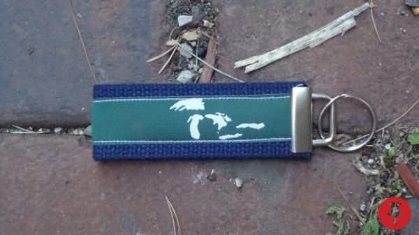 Official Chicago Belt Co. Key Fob. Support the Great Lakes - $13.00 - Powered by Pin2Sell