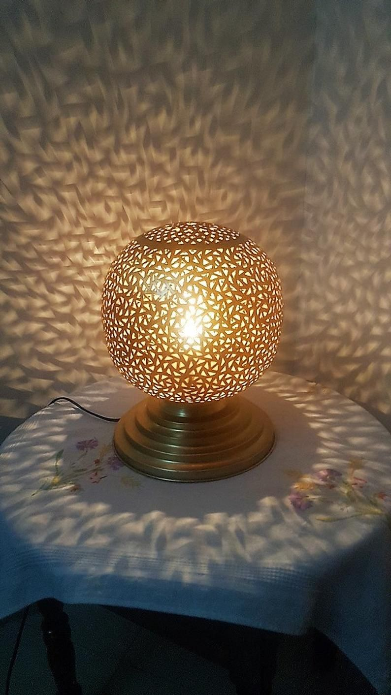Pin On Lampe Maechore Marocain