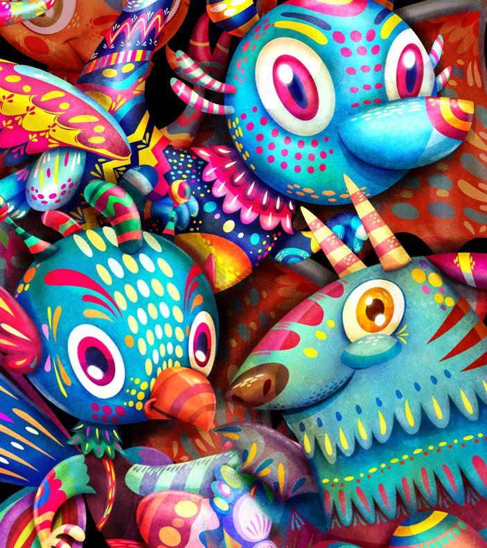 Hecho en México - Revista PICNIC - 100 proyectos, 16 áreas - 067 Golpeavisa es una central de abasto gráfico y un referente internacional del diseño mexicano desde su fundación. La base de operaciones de Golpeavisa, La Palapa, está ubicada en Cancún, en el caribe mexicano. Se vive y se trabaja con la idea de que si uno hace lo que más le gusta, no tendrá que trabajar un solo día de su vida. http://ow.ly/i/Wdse