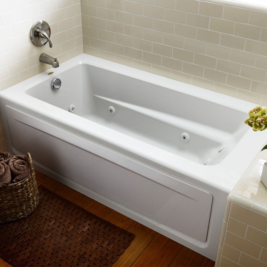 Shop Jacuzzi Primo 60-in L x 32-in W x 19-in H White Rectangular ...