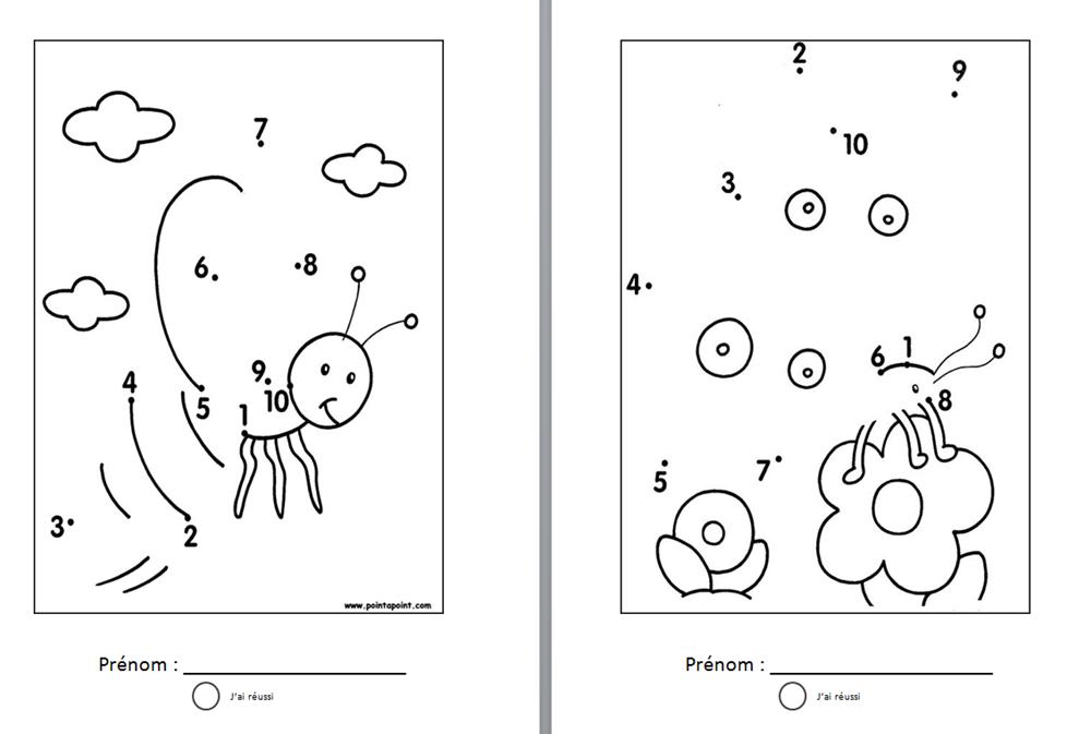 Points relier ateliers autonomes pinterest points maths maternelle - Comment relier 9 points avec 4 traits ...