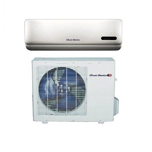 Classic America Kfr 35g With Gx1a 15 Ductless Wall Mount Mini Split Inverter Air Conditioner With Heat Pump 12 00 Split Inverter Ductless Wall Air Conditioner