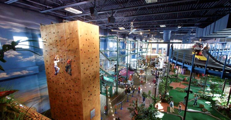 Kalahari Resorts Wisconsin Dells Indoor Theme Park
