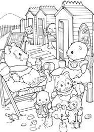 Billedresultat for Sylvanian Families Coloring Pages Sylvanian