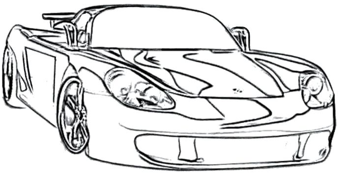 Porsche Boxster Coloring Page Porsche Car Coloring Pages Cars