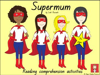 supermum reading comprehension resources mothers 39 day reading comprehension activities. Black Bedroom Furniture Sets. Home Design Ideas