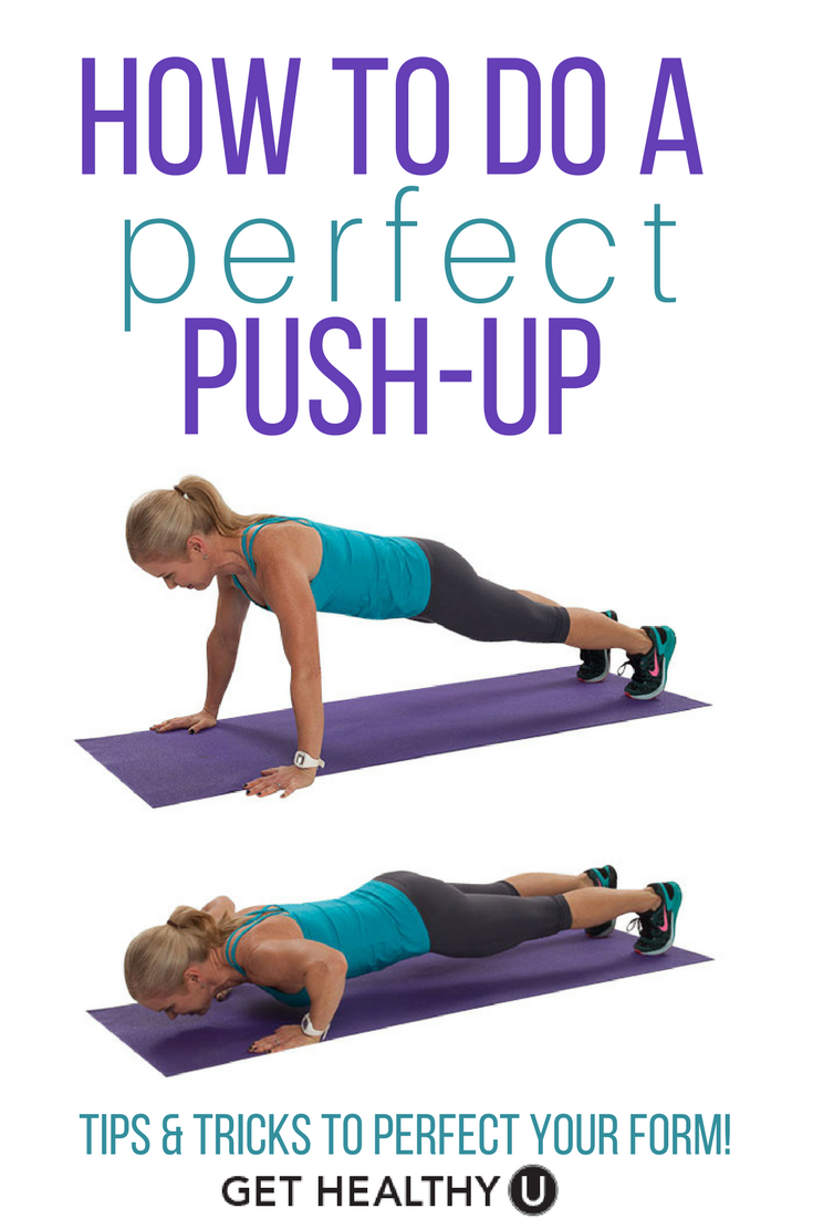 How To Do A Push Up Push Up Workout Perfect Pushup Push Up