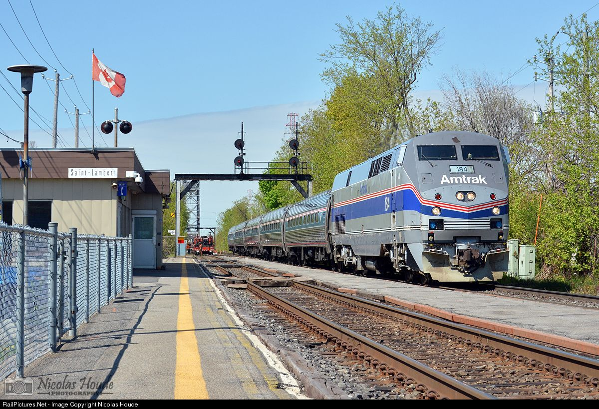 RailPictures Net Photo: AMTK 184 Amtrak GE P42DC at Saint