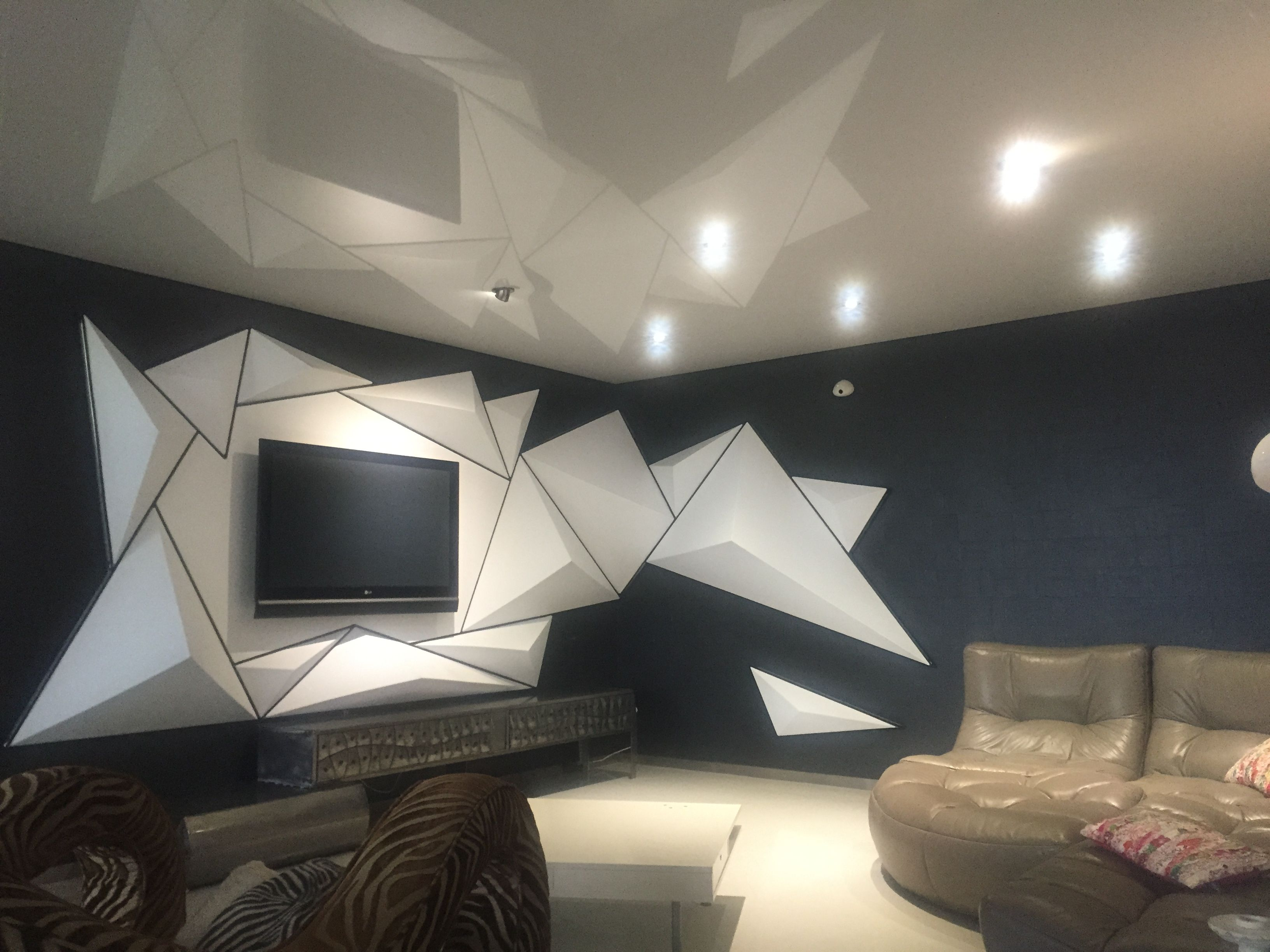 pose plafond tendu 31 d coration r novation by mieulet steeve pinterest. Black Bedroom Furniture Sets. Home Design Ideas