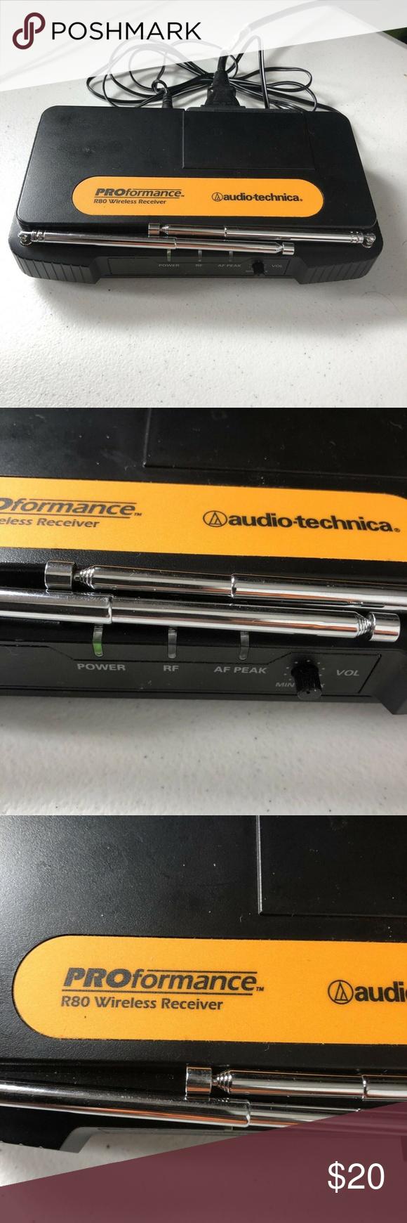 Audio Technica Proformance R80 Wireless Receiver Audio Technica Audio Receiver