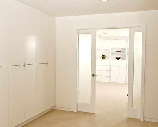 Lots Of Basement Storage Could Be Painted To Look More