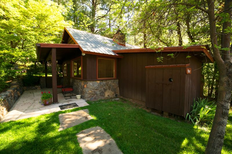 Cabin Mary At Garlandu0027s Oak Creek Lodge In Sedona | Sleeps 5, 1 King Bed