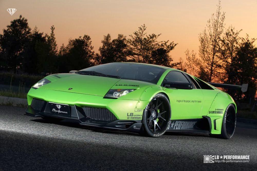 Insane Liberty Walk Lamborghini Murcielago Widebody Sitting Low And