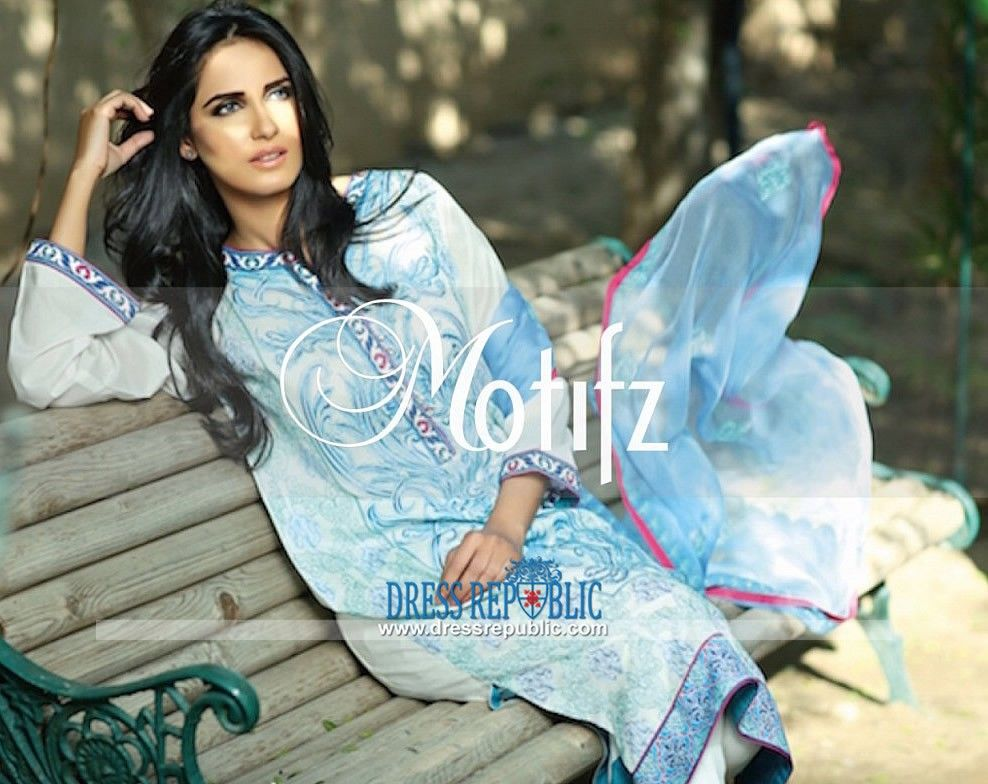 Motifz Embroidered Lawn Collection 2015 Vol-1 Complete Catalog