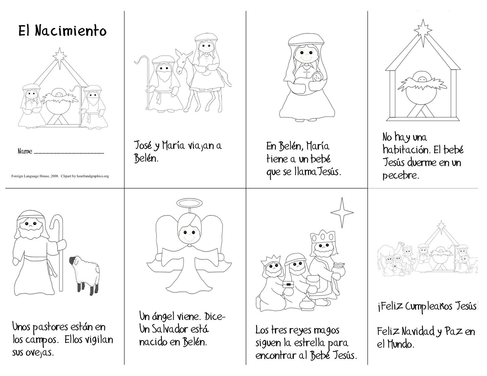Spanish Nativity