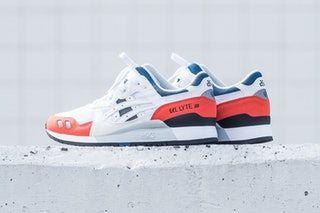 best service 53a0a b4acf ASICS GEL Lyte III white orange blue black 2018 february release date info  politics sneakers shoes footwear
