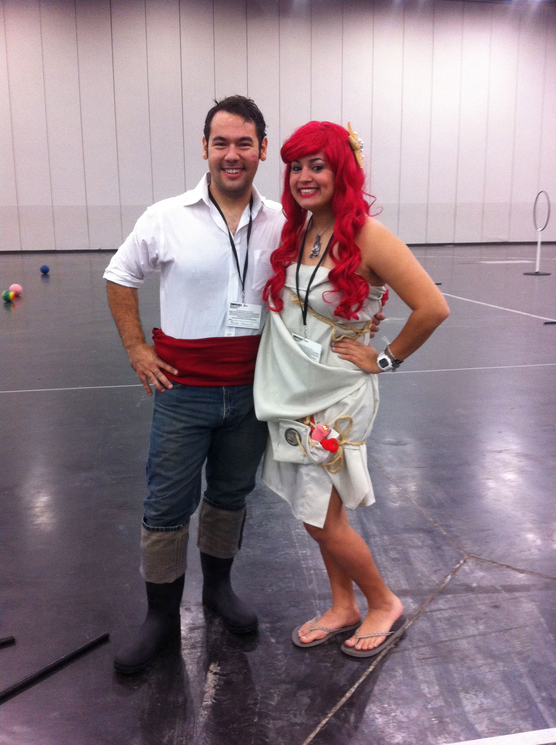 Ariel and Prince Eric costumes for Halloween!   Holidays ...