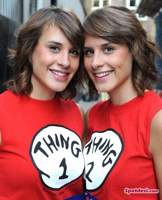 most identical and beautiful twin contest