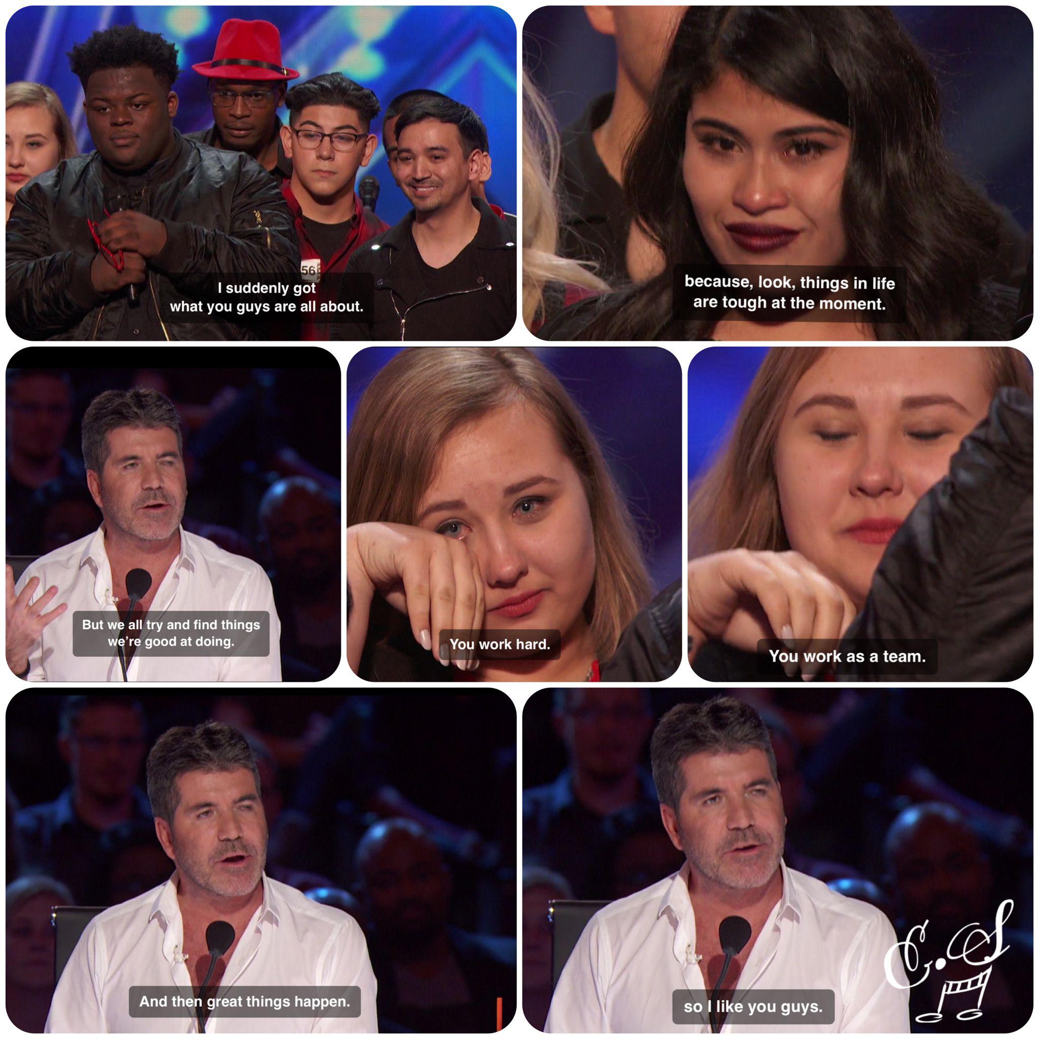 Simon Cowell On Americas' Got Talent