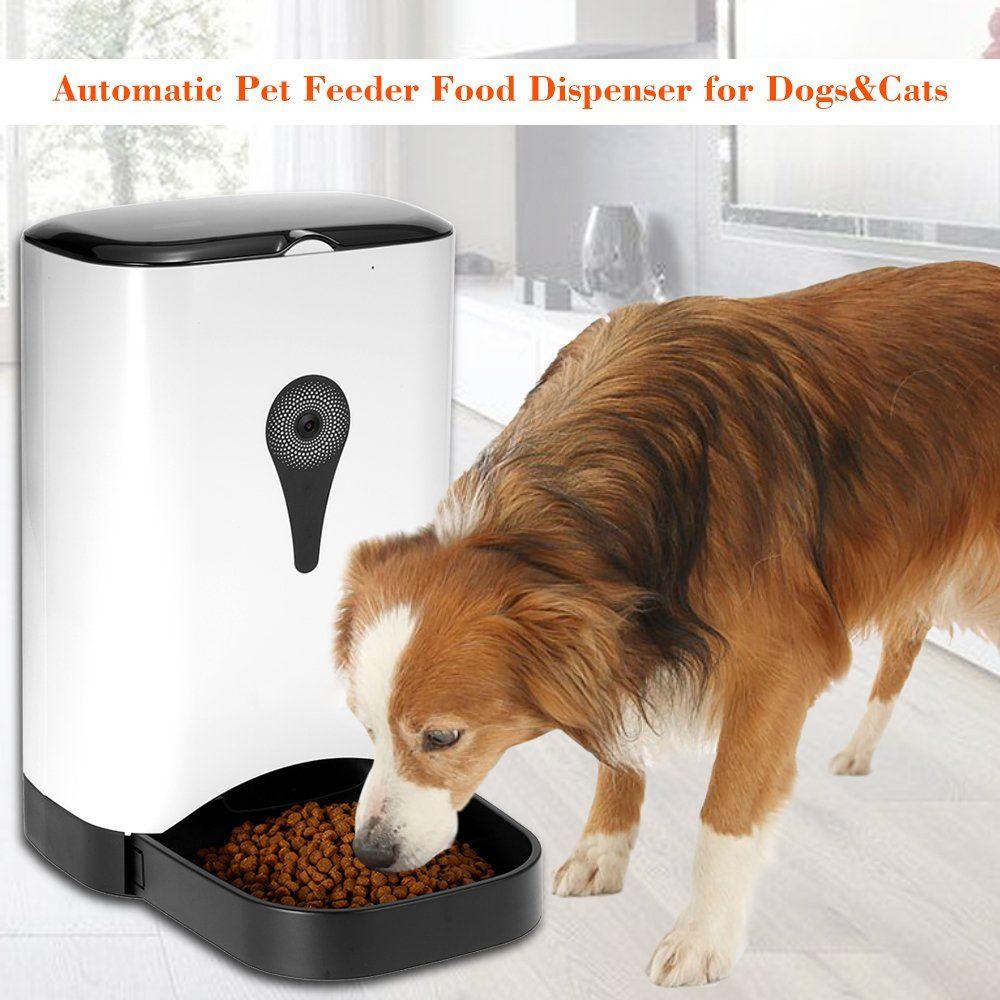 Leegodar Timer Automatic Dispenser Cat Dog Pet Self Feeders 4 5l