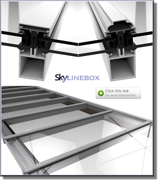 Self Supporting Skylights Glass Roof Glass And Aluminium Skylight