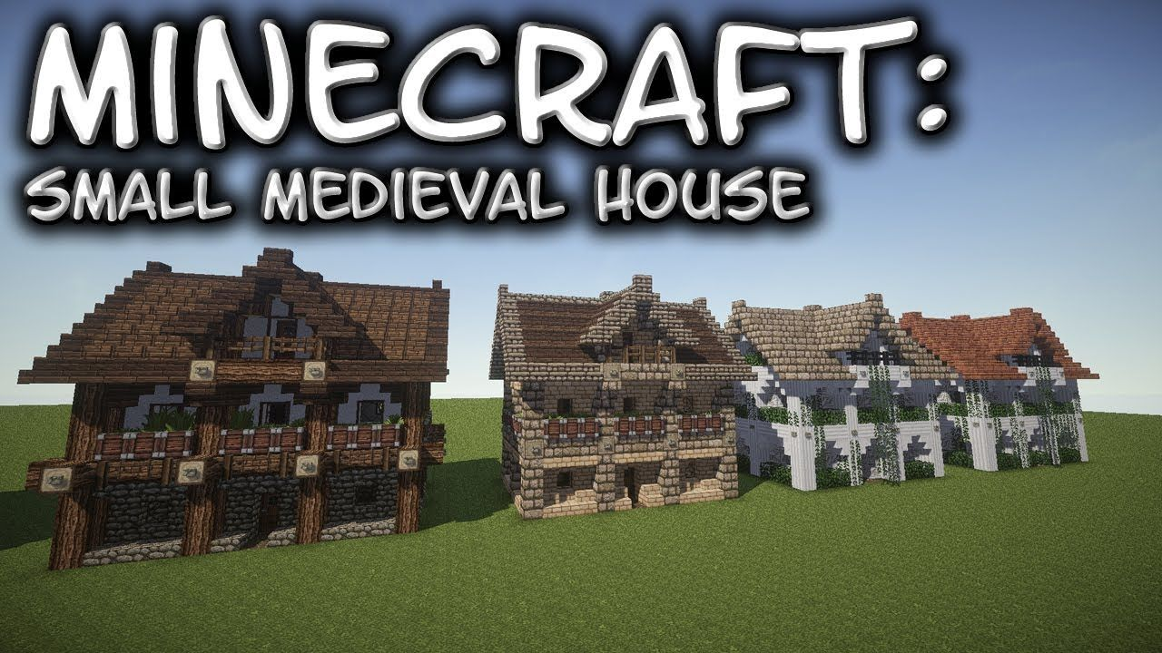 Minecraft: Small Medieval House Tutorial 1 | The crafting of my mind