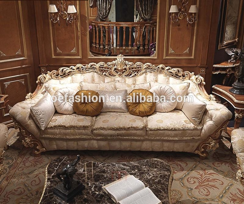 Oe Fashion Living Room Furniture Comfortable Italy Royal Fabric Sofa Couch Set View Living Room Wooden Sofa S Furniture Living Room Sets Furniture Wooden Sofa