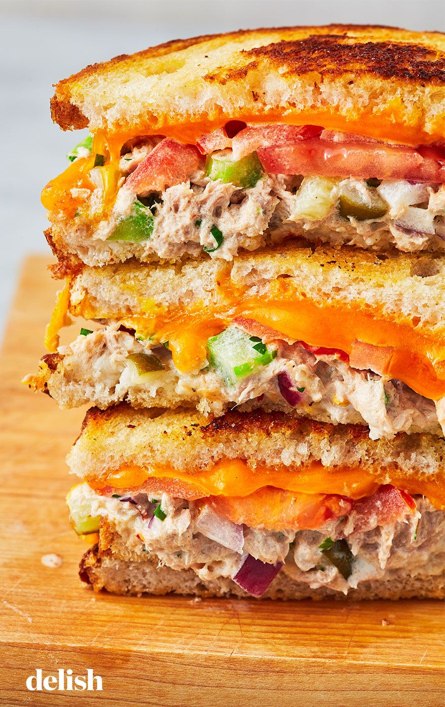 Best Tuna Melt #sandwichrecipes