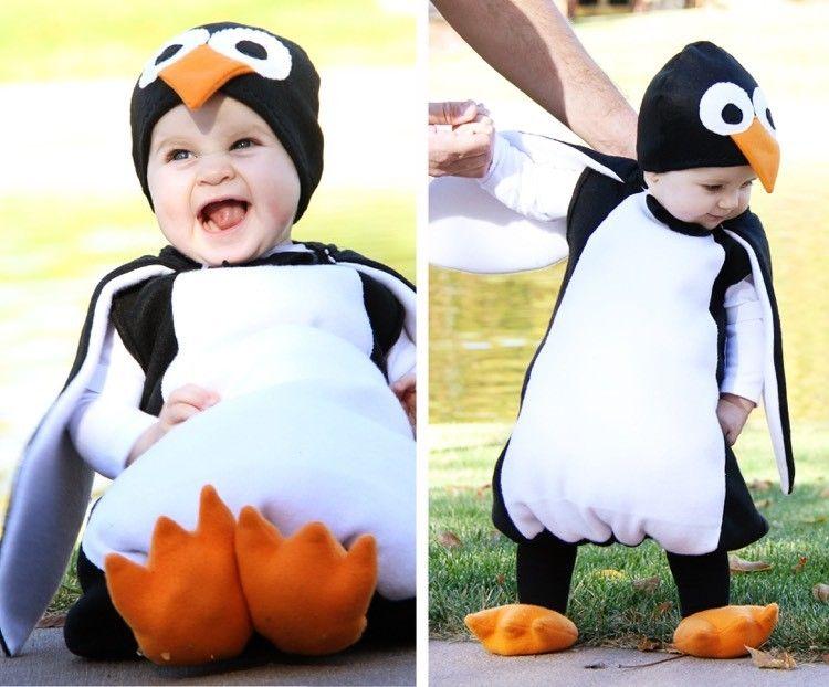 Kuschelig Weiches Pinguin Kostum Zum Karneval Basteln Penguin