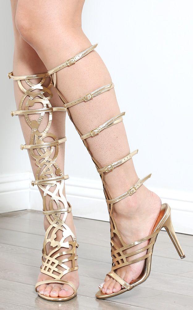 Crochet Lace Floral Hi-Lo Skirt | MakeMeChic.com | Gladiators ...