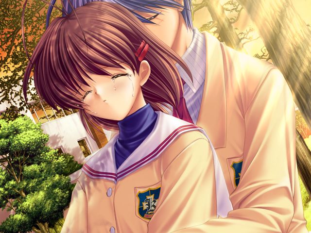 Clannad After Story Nagisa And Tomoya Nagisa Furukawa Character Giant Bomb Clannad Clannad After Story Character Art