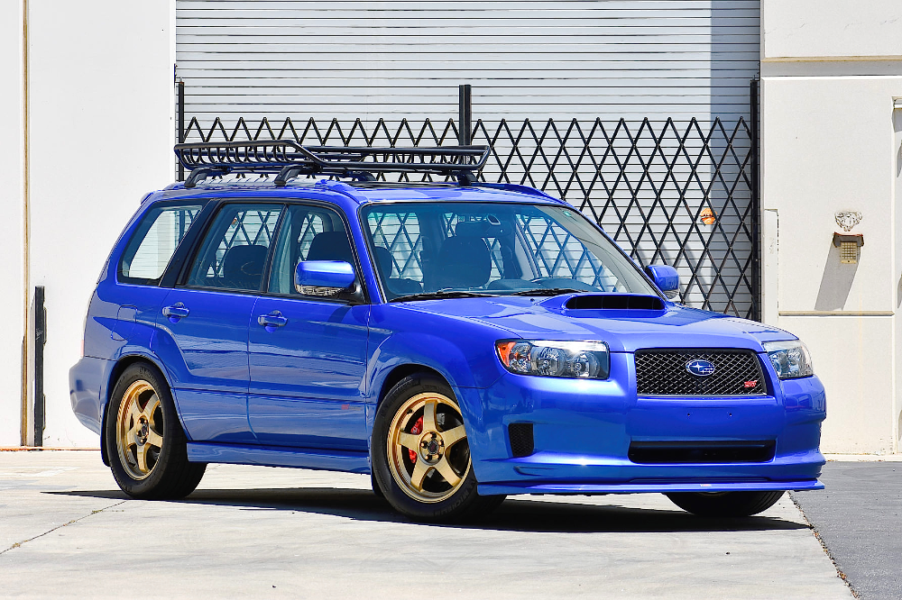 40kMile 2008 Subaru Forester Sports XT 5Speed ในปี 2020