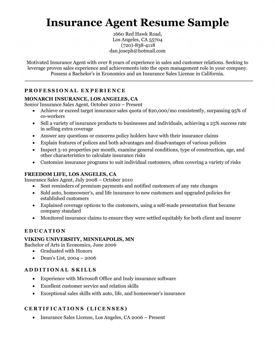 Resume Objective Examples For Multiple Jobs Di 2021