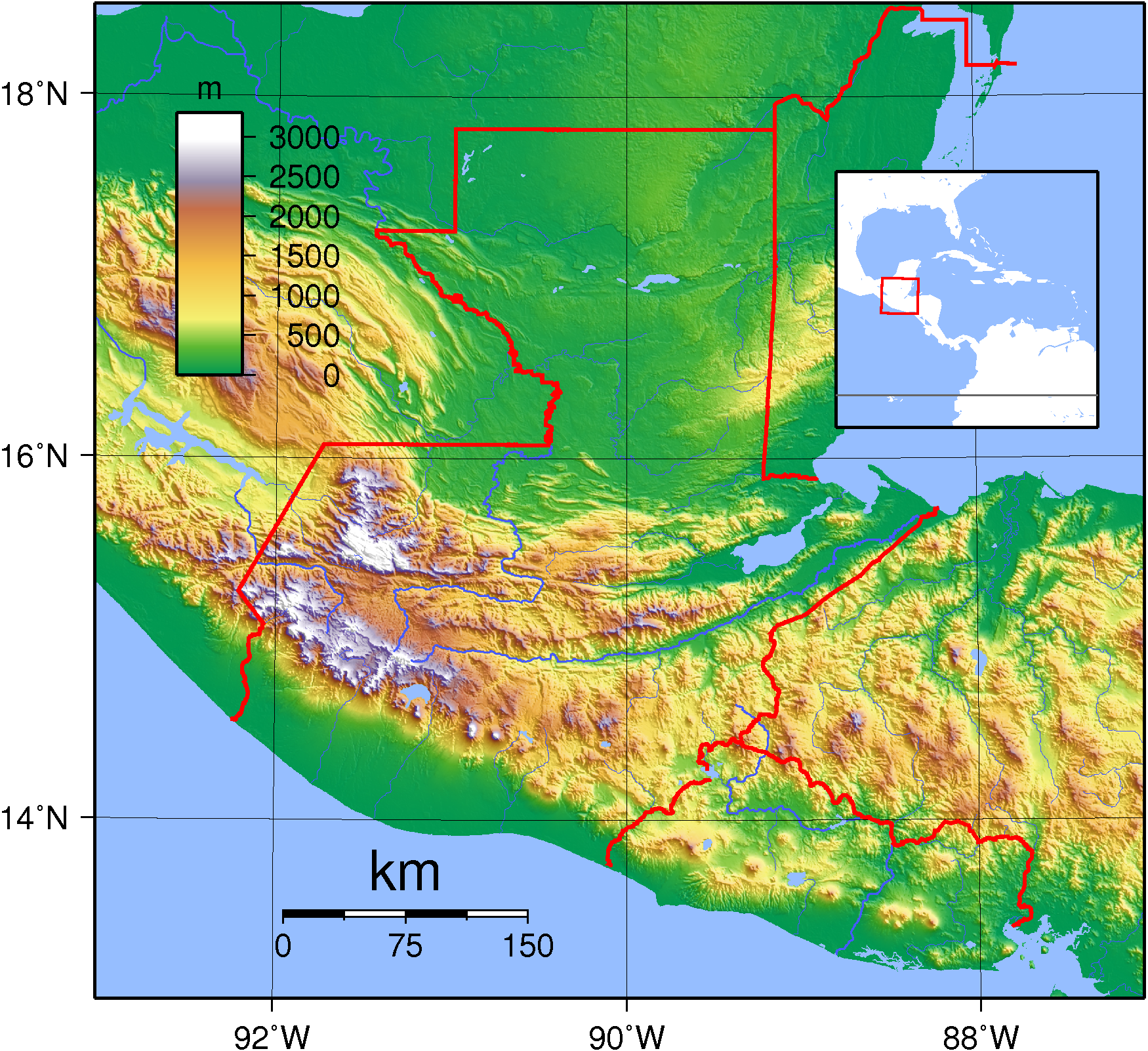 topography of guatemala Google Search Geography of Guatemala