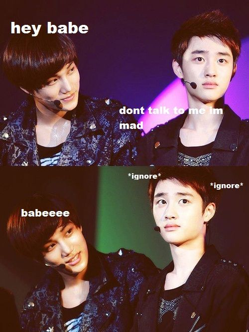 jealous Kai - Google Search   gay kpop moments   Exo, Kaisoo, Exo memes