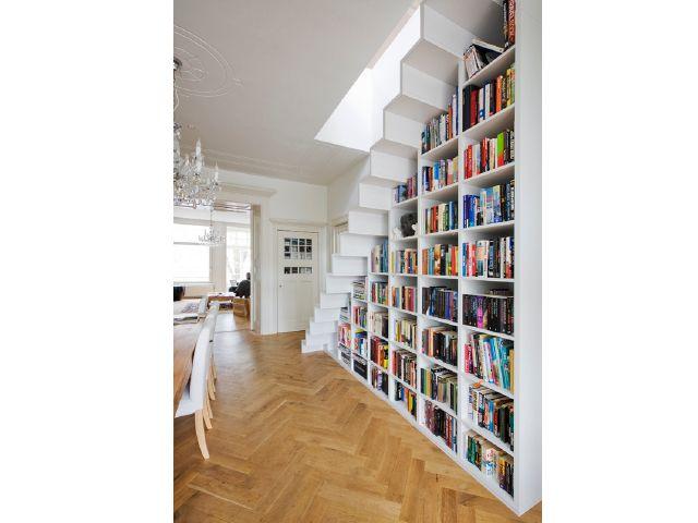 stairs & books. (marc koehler)